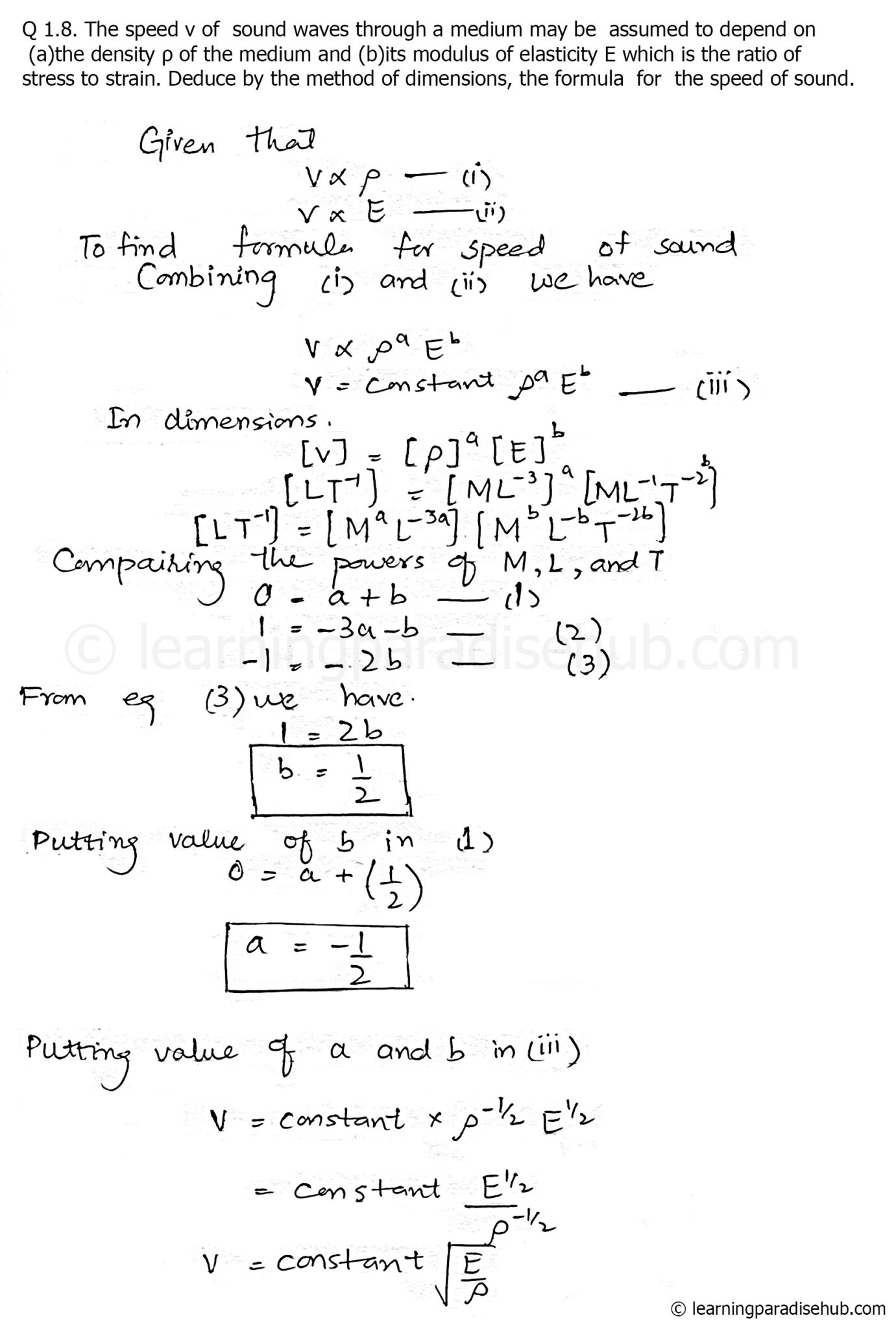 question-8-physics-first-year